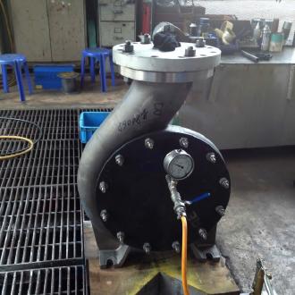 Centrifugal Pump Hydro Testing